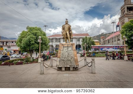 The Monument near Plaza De Armas