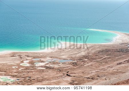 Natural Environmental Disaster On Dead Sea Shores