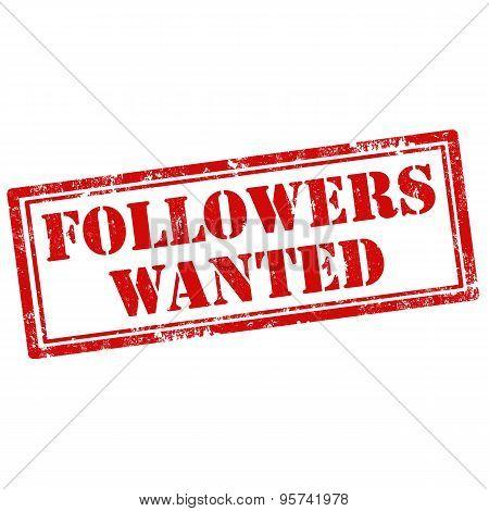 Followers Wanted