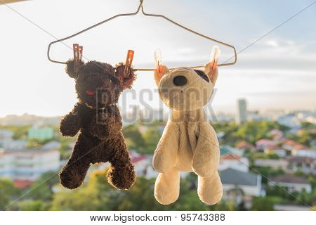 Hanging Animal Dolls