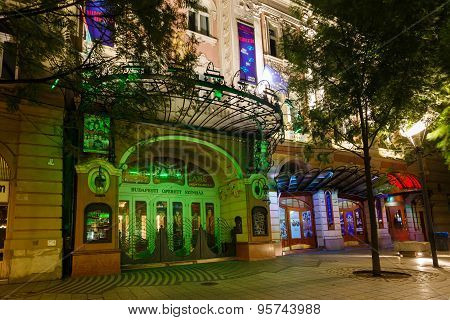 Budapest Operetta And Musical Theatre
