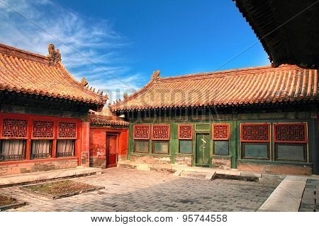 The Forbidden City in beijing ,china