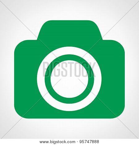 Camera symbol vector illustration