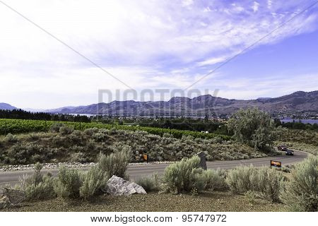 The offical desert of Canada. Osoyoos.