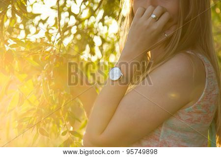 Women's Watches At Sunset