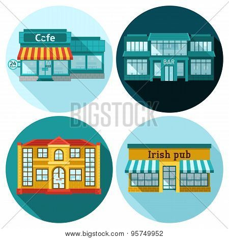 Cafe Flat Set