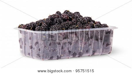 Mulberry In A Plastic Tray Rotated