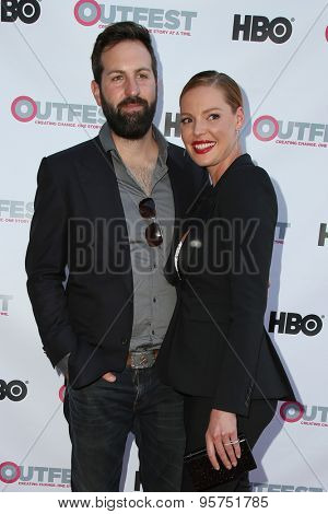 LOS ANGELES - JUL 10:  Josh Kelley, Katherine Heigl at the