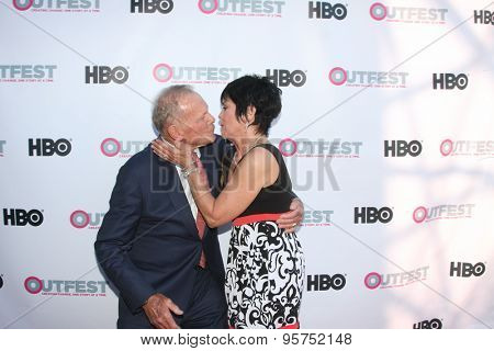 LOS ANGELES - JUL 11:  Tab Hunter, Joyce DeWitt at the