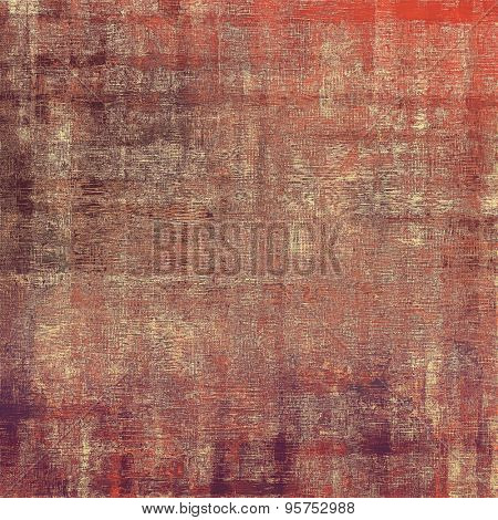 Art grunge vintage textured background. With different color patterns: brown; gray; red (orange); purple (violet)