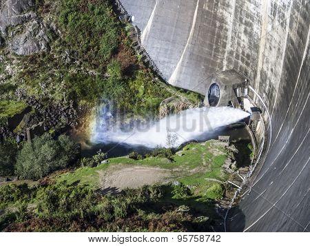 Santa Luzia Dam near Pampilhosa