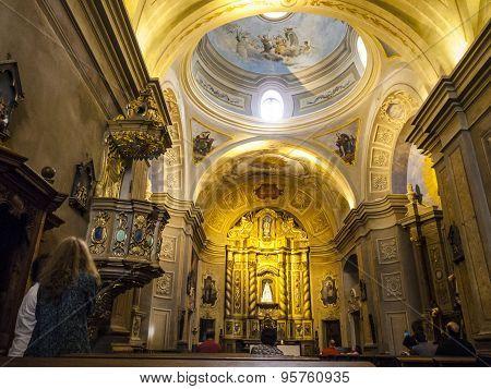 Famous Church Of Mission Estancia Jesuitica In Altagracia,argentina