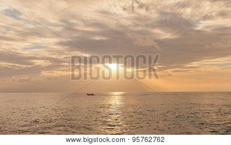 Sunset On Grand Cayman Island, Cayman Islands