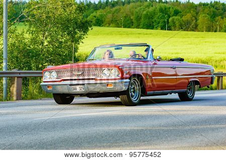 Ford Galaxie 500 Xl Red 1963