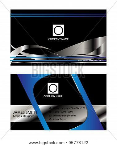 Bussiness Cards eps vector modern designs template.