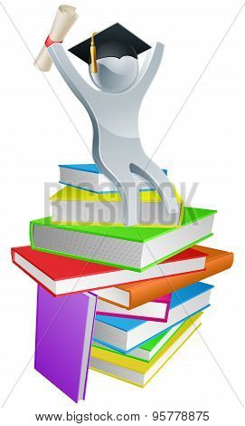 Convocation Man On Books