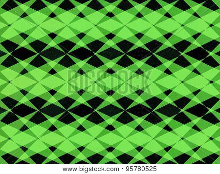 Black And Green Patterned Background