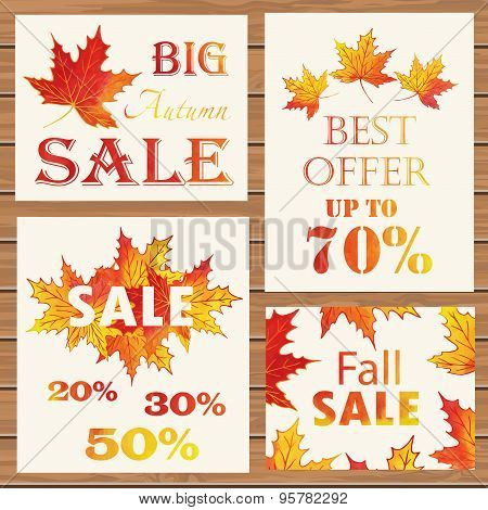 Autumn Sale posters