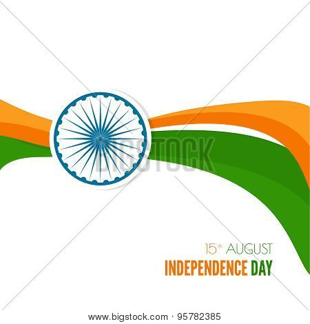 Abstract background with the symbol of India.