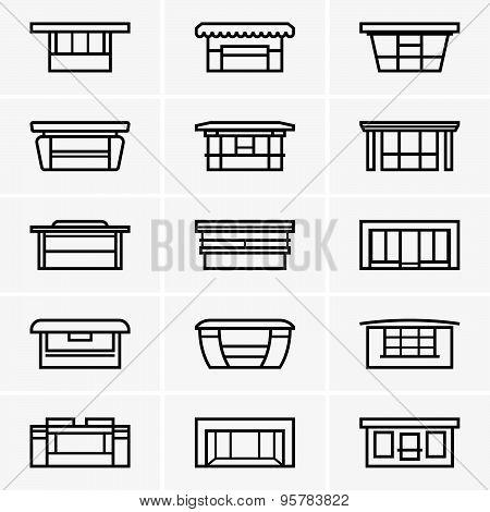 Kiosk icons