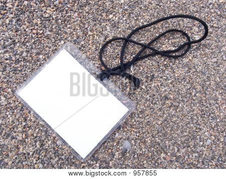 Card On A Cord