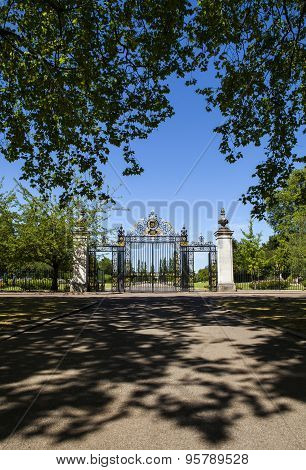 Jubilee Gates At Regents Park In London