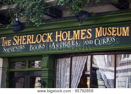 The Sherlock Holmes Museum In London