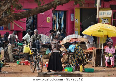 Fort Portal Slum, Uganda