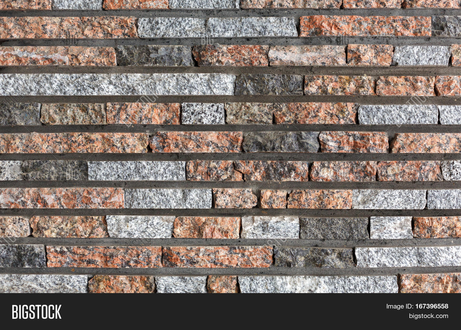 modern decorative colored stone wall background brick wall style