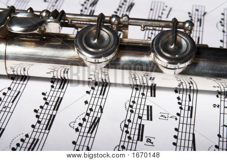 Flute Classic Music Concept