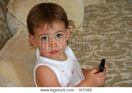 Baby Girl Tv Remote
