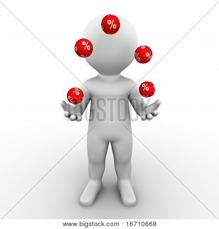 percent juggler - Bobby Series