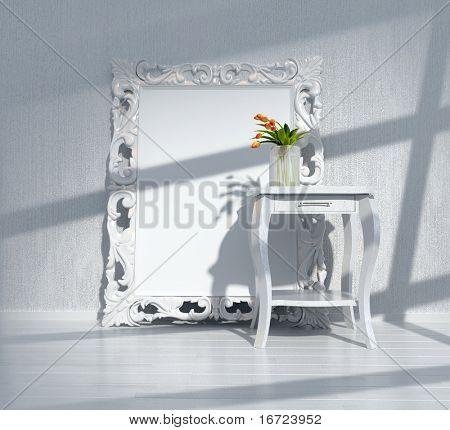 modern interior design(3D interior rendering)