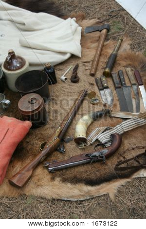 Guns, Knives & Camp Equipment