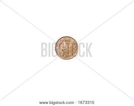 Indian Coin - Twelfth Anna