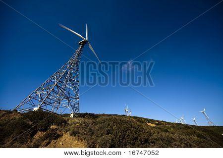 Old Wind Turbines
