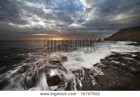 Coast Of The Natural Park Of Cabo De Gata
