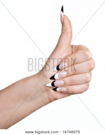 Female Thumb Up
