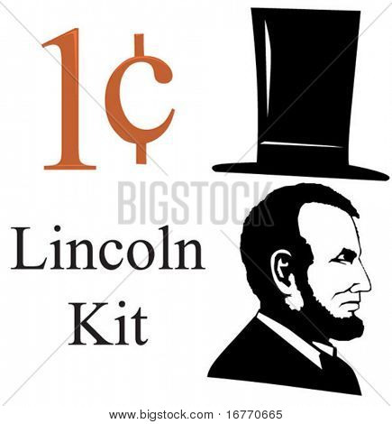 Everything you need to make your own Lincoln-related images. Great for 1 cent sales. Or make plans for your own Mt Rushmore.