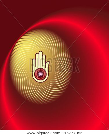 Jain Abstract Background,