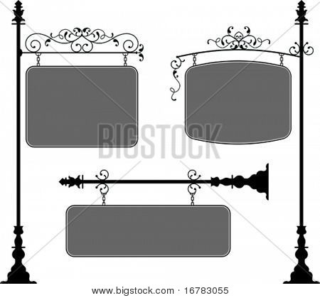 Wrought Iron Signage