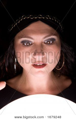 Shocked Fortuneteller