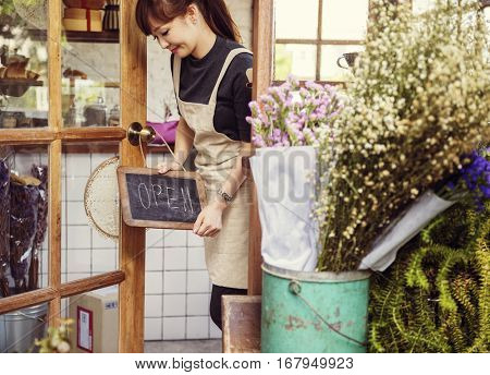 poster of Flower Shop Store Florist Botany Bouquet Blooming
