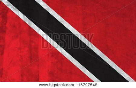Grunge Flag of Trinidad and Tobago