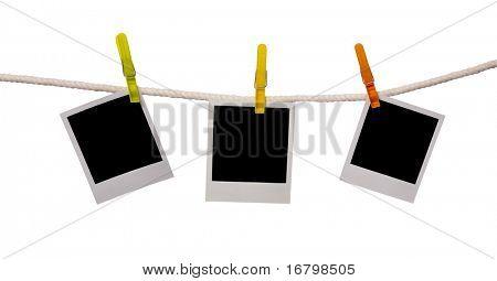drei Fotos auf einem Seil, Beschneidungspfad