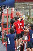 Постер, плакат: Игры в баскетбол