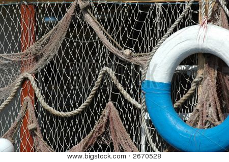 Net And Lifebuoy