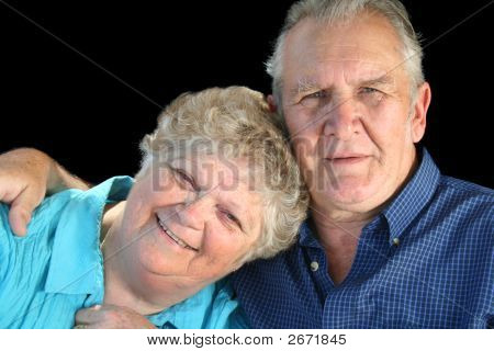 Devoted Senior Couple
