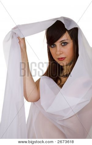 Young Woman With Veil