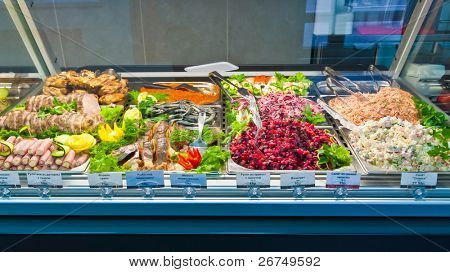deli on display